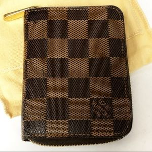 Authentic Louis Vuitton Small Zippy Coin Wallet